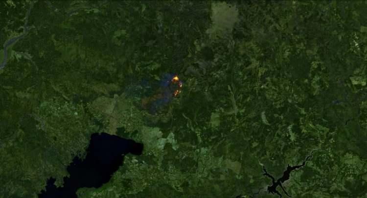 <p><strong>KÖYCEĞİZ - SONRASI</strong><br /> <br /> 2 Ağustos'taki görüntüde bölgedeki orman yangını görülüyor.</p>