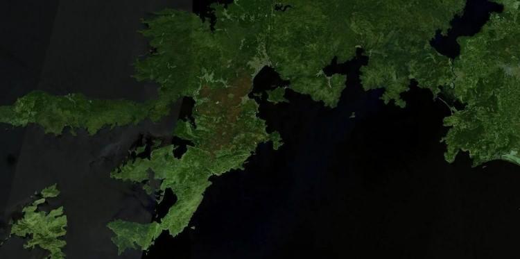 <p><strong>MARMARİS - SONRASI</strong></p>  <p>Tarihler 2 Ağustos'a ait bu uydu görüntüsünde bölgedeki yangının ormanlara verdiği zarar gözler önüne serildi.</p>