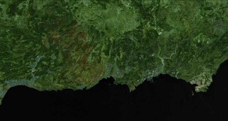 <p><strong>AYDINCIK - SONRASI<br /> </strong><br /> Sönen yangının ardından ormanda geniş bir alan tahrip oldu. 3 Ağustos tarihli görüntüde tahribatı görmek mümkün.</p>