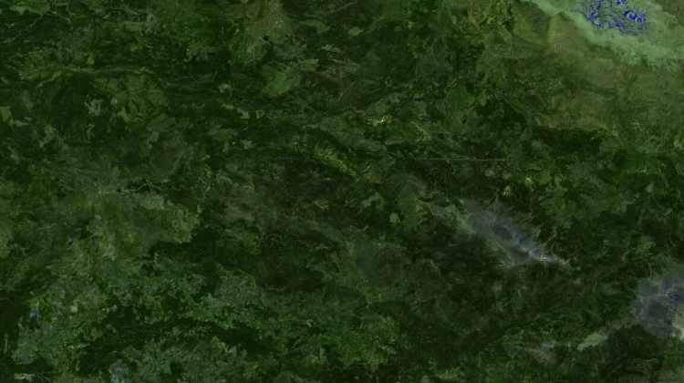 <p><strong>GÜNDOĞMUŞ - ÖNCESİ</strong><br /> <br /> Antalya'nın Gündoğmuş ilçesinin 27 Temmuz tarihine ait uydu görüntüsü.</p>