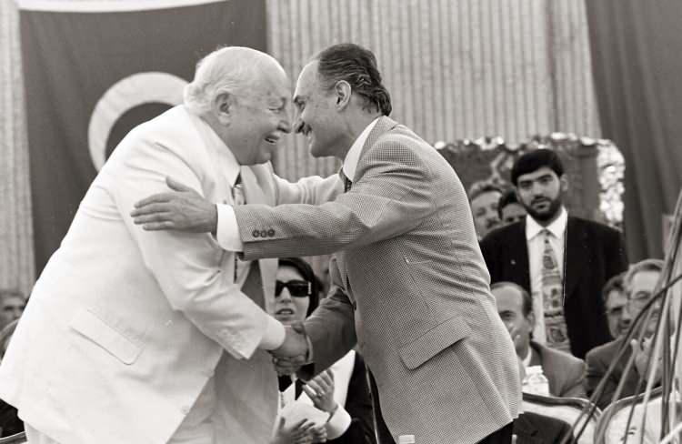 <p>Refah Partisi'nin 14. Kuruluş yıldönümü dolayısıyla Ankara'da tören düzenlendi. (19 Temmuz 1997)</p>  <p></p>