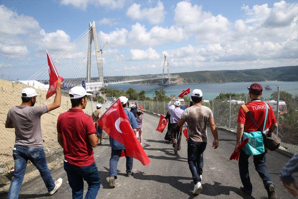 Vatandaşlar Yavuz Sultan Selim yolunda