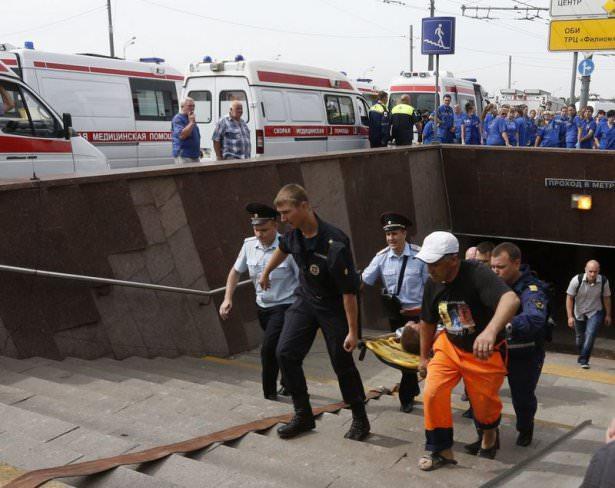 <p>Rusya'nın başkenti Moskova'da metroda meydana gelen kazada ilk belirlemelere göre 16 kişi öldü, 80 kişi yaralandı.</p>  <p></p>