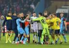 Trabzon'da maç bitti gerginlik başladı!