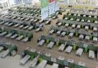 İran'da dev alışveriş merkezi hastaneye dönüştürüldü