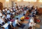 Tarihi cami 96 yıl sonra cemaatine kavuştu