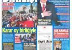 11 Temmuz gazete manşetleri