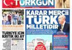 13 Temmuz gazete manşetleri
