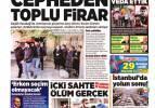 14 Ekim gazete manşetleri