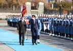 Cumhurbaşkanı Erdoğan karşıladı! Katar Emiri Türkiye'de