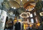 Dünyaya mesaj net! Ayasofya Camii'nde Mescid'i Aksa pozu