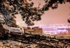 Sırbistan'ın başkenti Belgrad'da masalsı kış manzaraları