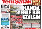 15 Şubat günün gazete manşetleri - Kudüs alarm veriyor