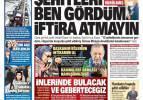 17 Şubat günün gazete manşetleri - Şehitleri ben gördüm iftira atmayın