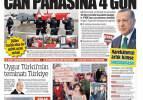 16 Şubat günün gazete manşetleri - Kafede en fazla 45 dakika