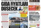 21 Şubat günün gazete manşetleri - Vatandaş rahat nefes alacak: gıda fiyatları düşecek