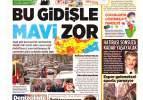 7 Mart pazar gazete manşetleri - İstanbul 1 haftada kızardı!