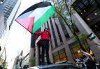 New York'ta İsrail'in Filistin işgali ve ABD'nin İsrail'e desteği protesto edildi