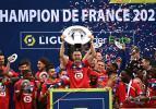 Şampiyon Lille kupasına kavuştu!