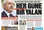 Kılıçdaroğlu'ndan her güne bir yalan! ! 5 Ağustos perşembe 2021 gazete manşetleri