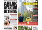 Sosyal medyada dilencilik ve teşhir korkutucu boyutta - 23 Eylül günün gazete manşetleri