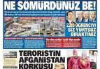 30 Eylül 2021 gazete manşetleri