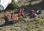 Gerçeği aratmayan tatbikat: Düşen uçaktaki yaralılara koştular