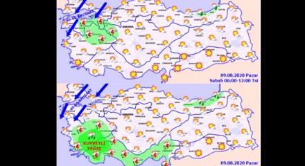 Meteoroloji uyarının seviyesini arttırdı! Çok sayıda ili vuracak