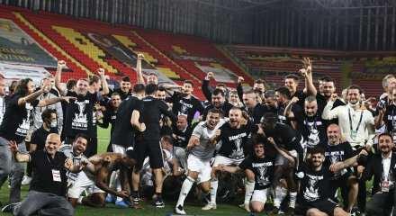 Beşiktaş şampiyon! Sergen gözyaşlarını tutamadı