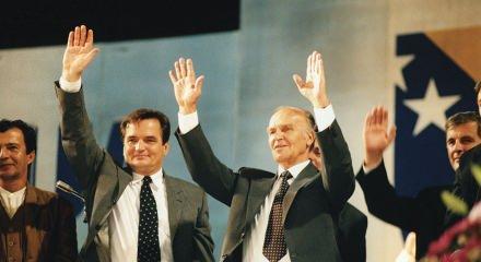 Bosna Hersek'in ilk Cumhurbaşkanı Aliya İzetbegoviç, vefatının 18. yılında anılıyor