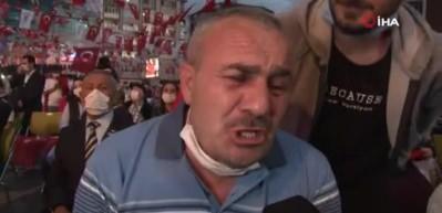 15 Temmuz Gazisi gözyaşlarına boğuldu