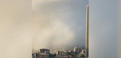 1 dakikada Beyrut adeta yok oldu! Patlama anı ve sonrası kameralara böyle yansıdı