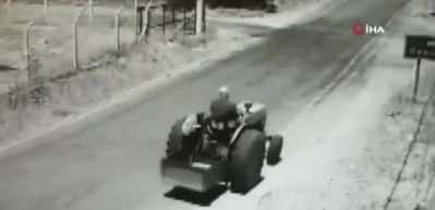 1 kişinin öldüğü feci kaza kamerada!
