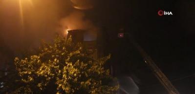 Eşiyle tartıştı, 5 çocuğunun bulunduğu evi ateşe verdi