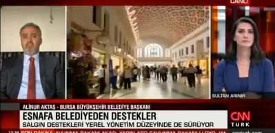 Alinur Aktaş'tan Bursa'ya Kurban Bayramı müjdesi