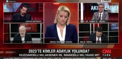 Hulki Cevizoğlu: CHP'de adayları müritleri uçuruyor