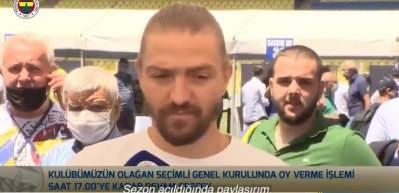 Caner Erkin'den Fenerbahçeliler günü paylaşımı!