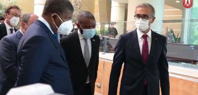 Angola Cumhurbaşkanı Lourenço, Savunma Sanayii Başkanlığını ziyaret etti