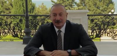Azerbaycan Cumhurbaşkanı Aliyev, Kurtulmuş başkanlığındaki AK Parti heyetini kabul etti