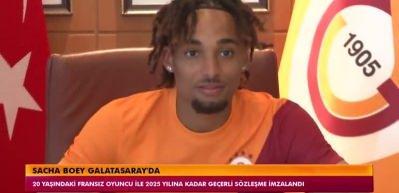 Galatasaray, Sacha Boey'i açıkladı!