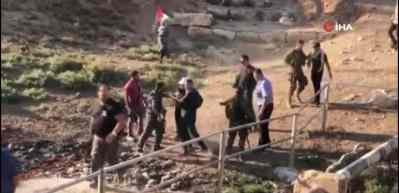İsrail güçlerinden Filistinli protestoculara sert müdahale: 1 ölü, 158 yaralı