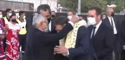 Macron'un Fransız Polinezyası ziyaretinde zor anları