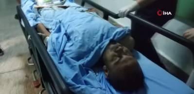 Samsun'da karnından bıçaklandı, üzerinden uyuşturucu çıktı