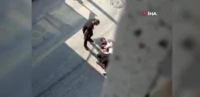 Silahlı kavga kameralara yansıdı