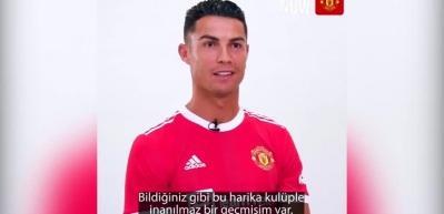Cristiano Ronaldo: Manchester United'a döndüysem, bu onun sayesinde