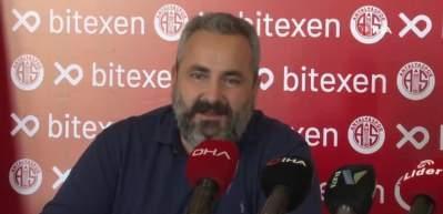 Antalyaspor'un forma sponsoru Bitexen Teknoloji oldu