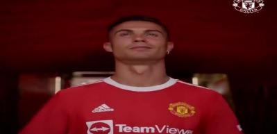 Manchester United'den Ronaldo paylaşımı