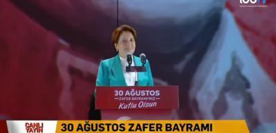 Akşener'den 'Fatih Sultan Mehmet' benzetmesi hakkında açıklama
