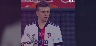 Beşiktaş'tan heyecanlandıran Şampiyonlar Ligi paylaşımı
