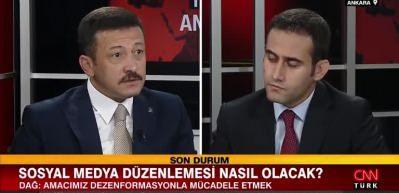 AK Partili Hamza Dağ Cumhur İttifakının oy oranını açıkladı